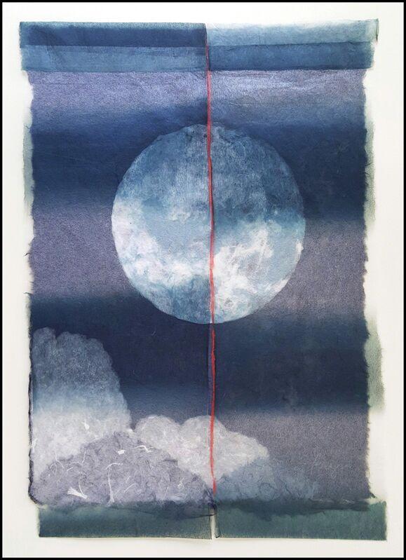 Sarah Brayer, 'Blue Planet', 2016, Print, Handmade paperwork, Verne Collection, Inc.
