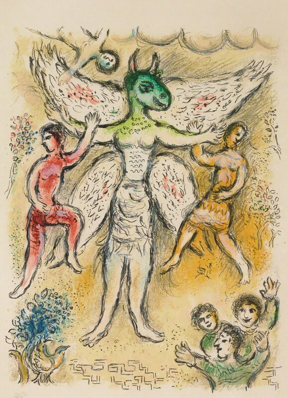 Marc Chagall, 'Eupeithes (M.829, L'Odyssée)', 1974, Print, Lithograph, Martin Lawrence Galleries