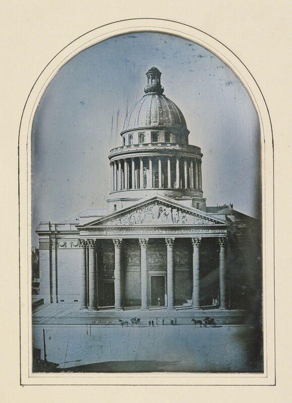 Alphonse-Louis Poitevin, 'The Pantheon, Paris', 1842, Photography, Daguerreotype, J. Paul Getty Museum