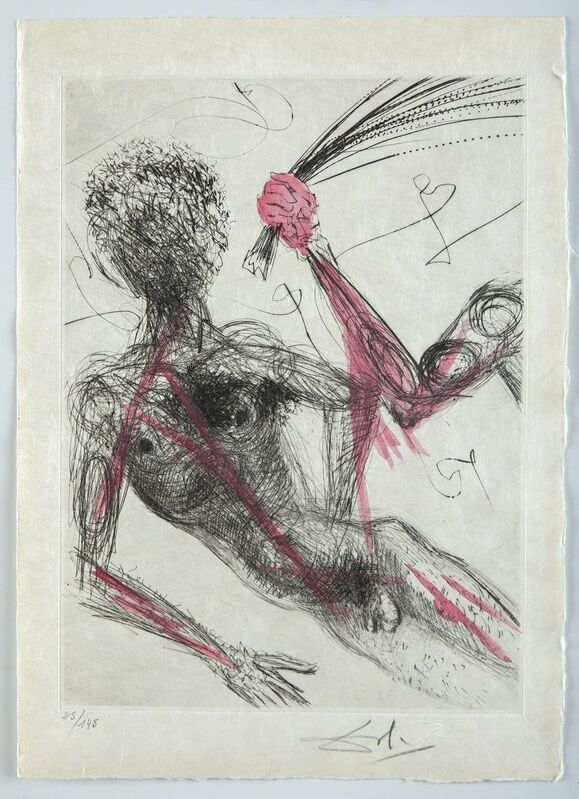Salvador Dalí, 'La Femme au Fouet', 1969, Print, Print, Modern Artifact