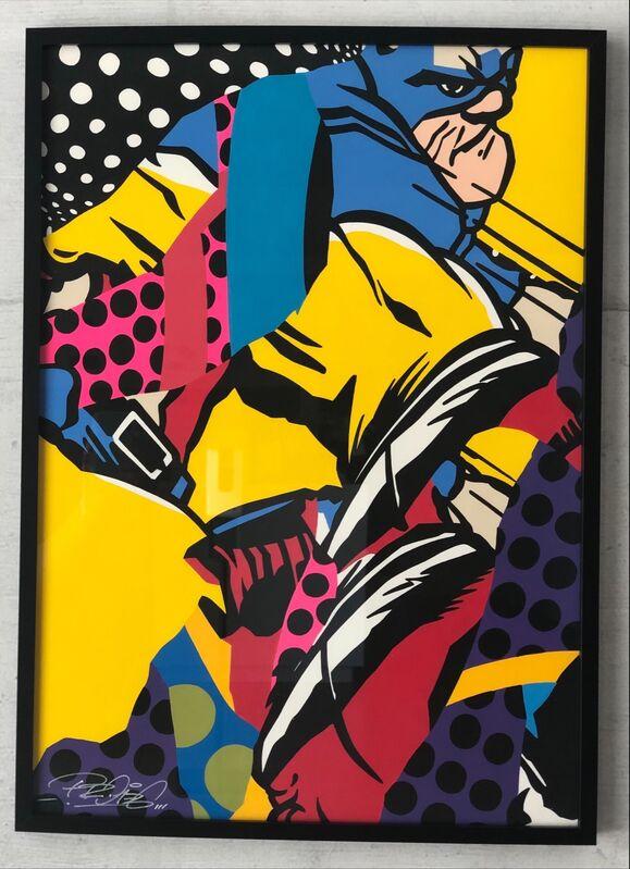 PRO176, 'Untitled', 2021, Painting, Acrylic on paper, Artrust
