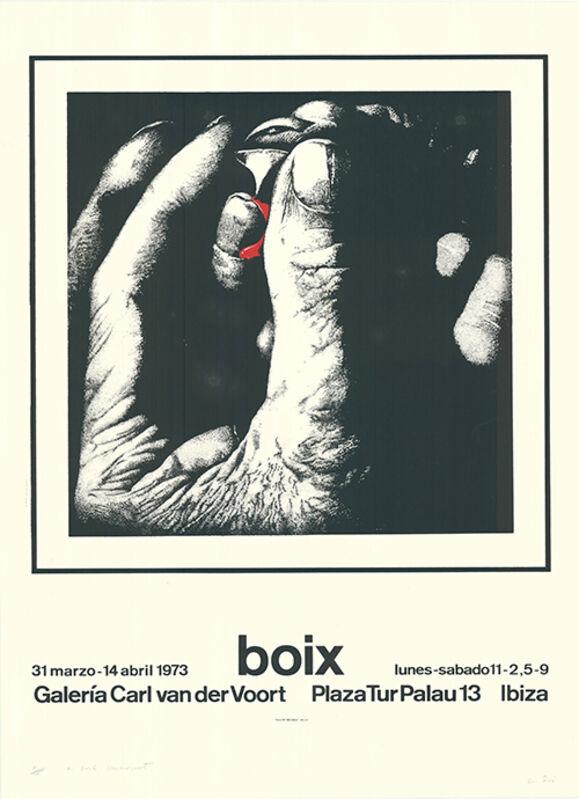 Manuel Boix Alvarez, 'untitled', 1973, Print, Silkscreen, Sylvan Cole Gallery