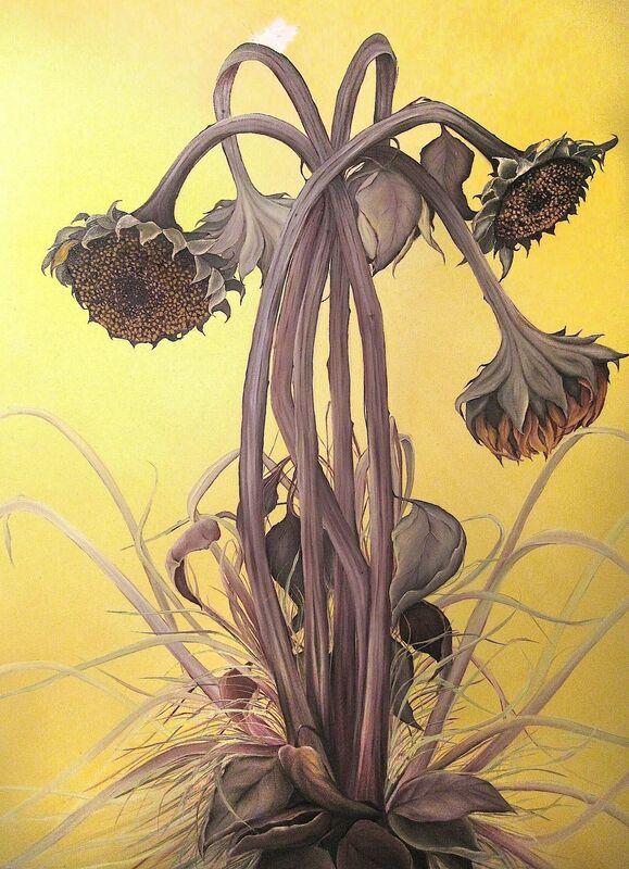 Allison Green, 'Autumn Sunflowers', 2013, Painting, Oil on canvas, Susan Eley Fine Art