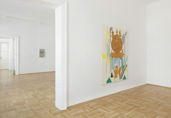 As if in a foreign country, installation view