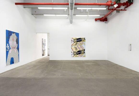 Loose Ankles, installation view