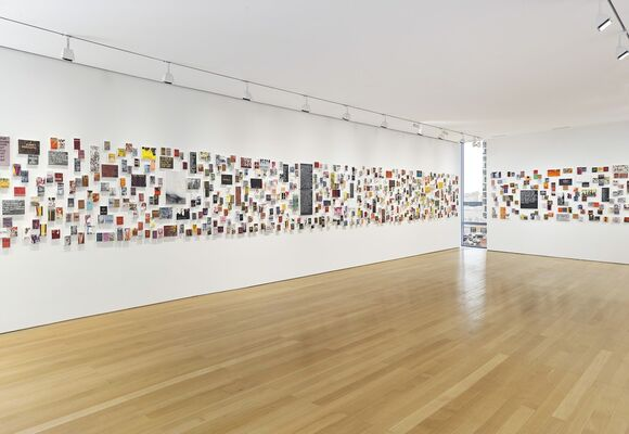 Betty Tompkins: WOMEN Words, Phrases, and Stories, installation view