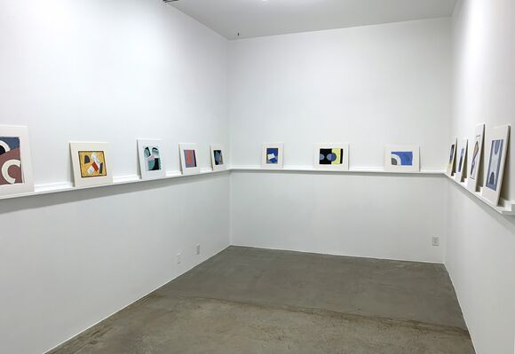 Leslie Laskey: Clouds and Eclipse, installation view