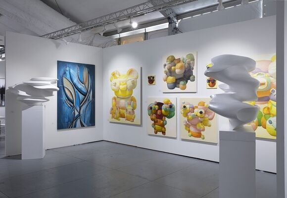 Askeri Gallery at SCOPE Miami Beach 2019, installation view