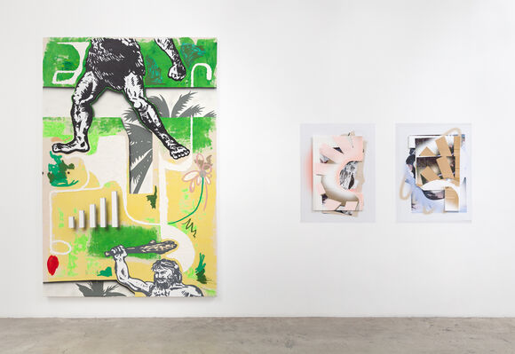I've got a good mind to give up living and go shopping instead, installation view