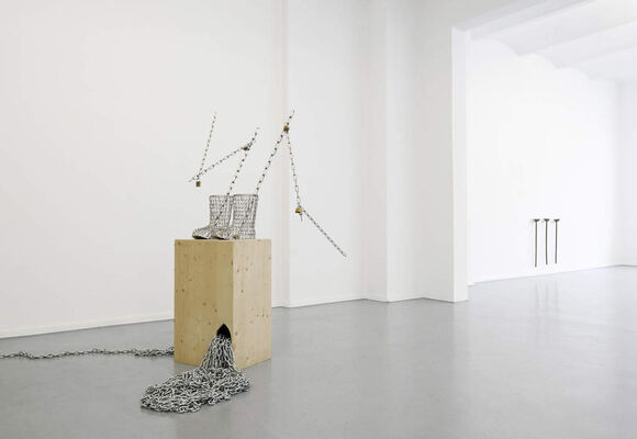ABOUT SCULPTURE #2, installation view