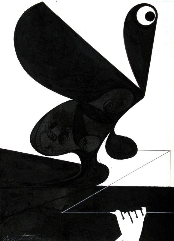Eugene James Martin, 'Untitled', 1988, Drawing, Collage or other Work on Paper, Pen and ink, Eugene Martin Estate
