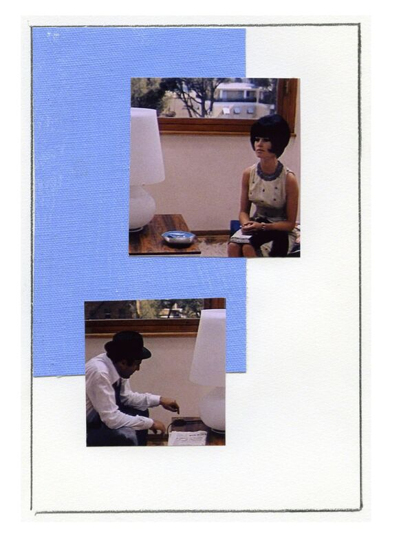 Ian Wallace, 'Enlarged Inkjet Study for Le Mepris VI', Print, Inkjet print, Jessica Silverman