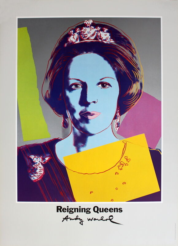 Andy Warhol, 'Queen Beatrix of the Netherlands, from Reigning Queens', 1986, Ephemera or Merchandise, Offset Lithograph, ArtWise