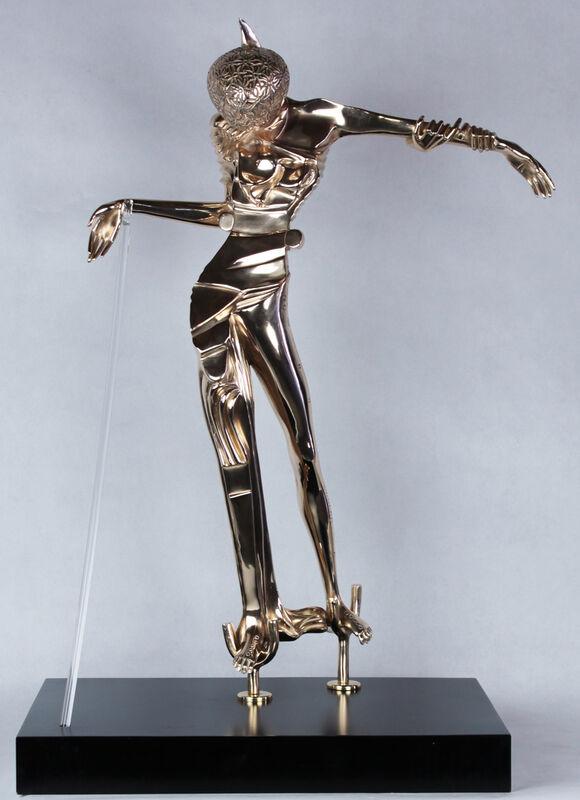 Salvador Dalí, 'Femme à la tête de rose', 1981, Sculpture, Bronze, Bel-Air Fine Art