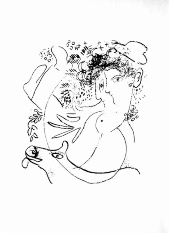 Marc Chagall, 'Les deux profiles', 1957, Print, Velum paper, Modern-Originals
