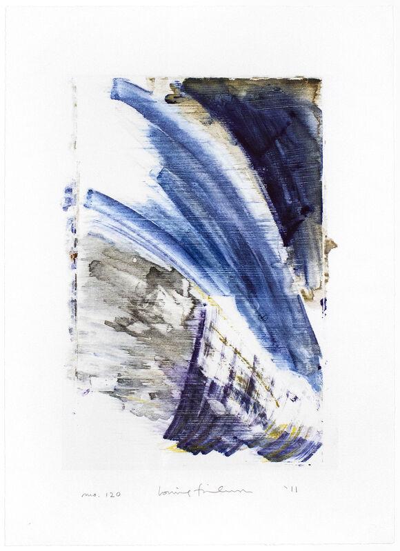 Louise Fishman, 'Homage to the Mountains No. 120', 2011, Print, Monotype, Goya Contemporary/Goya-Girl Press