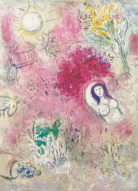 "Marc Chagall, '""Chloé (Chloe)"" from Daphnis et Chloé (Cramer 46; Mourlot 339)', 1977, Print, Offset lithograph on wove paper, Art Commerce"