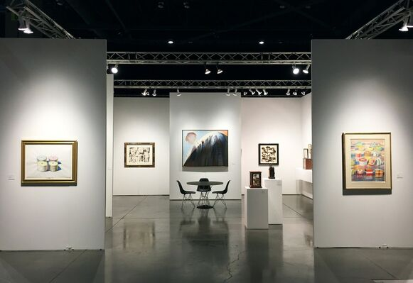 Allan Stone Projects at Seattle Art Fair 2016, installation view