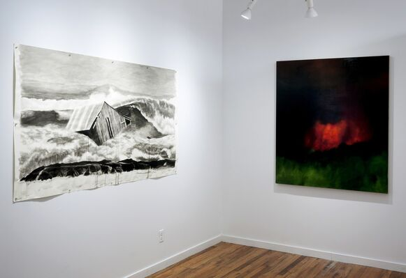 Disquieting Vicinities, installation view