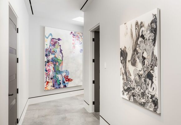 The Multidimensional Work of Kimber Berry, installation view