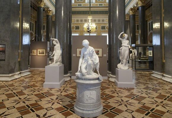 """""""Created by a Hand with but a Chisel Armed…"""" Sculpture in St Petersburg's Palaces in the 19th Century, installation view"""