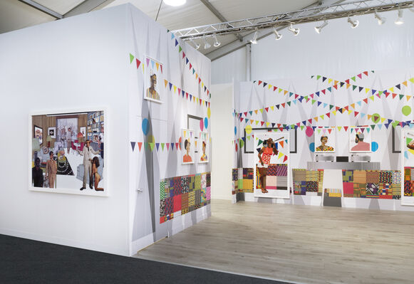 Salon 94 at Frieze Los Angeles 2020, installation view