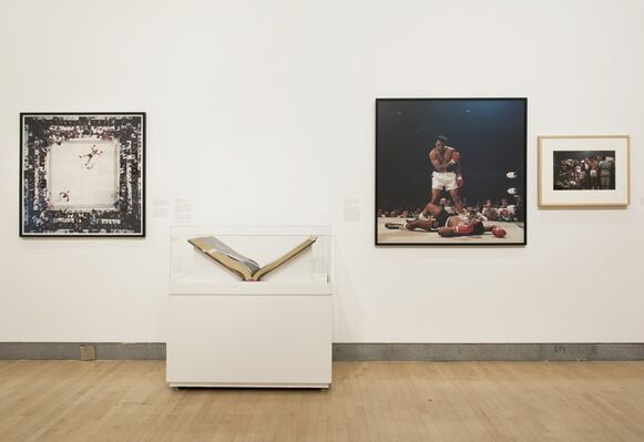Who Shot Sports: A Photographic History, 1843 to the Present, installation view