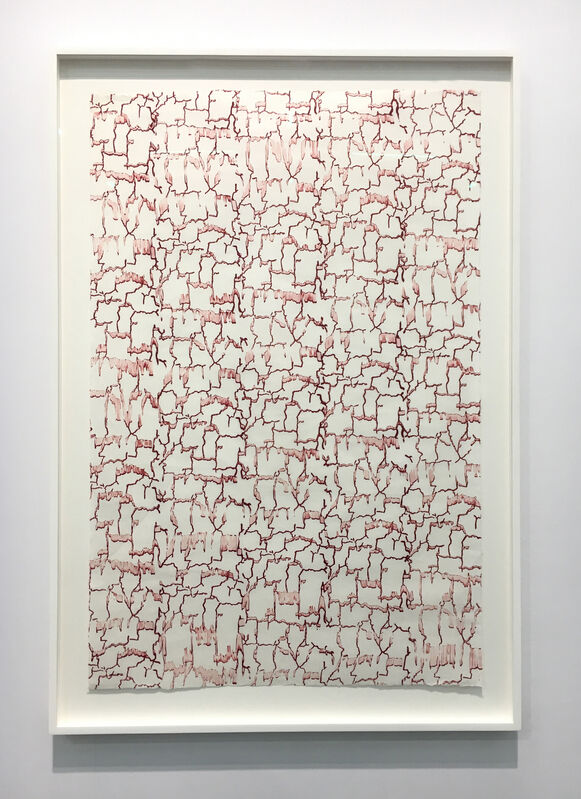Christopher Wool, 'Untitled', 1989, Drawing, Collage or other Work on Paper, Ink on Suzuki paper, Carolina Nitsch Contemporary Art