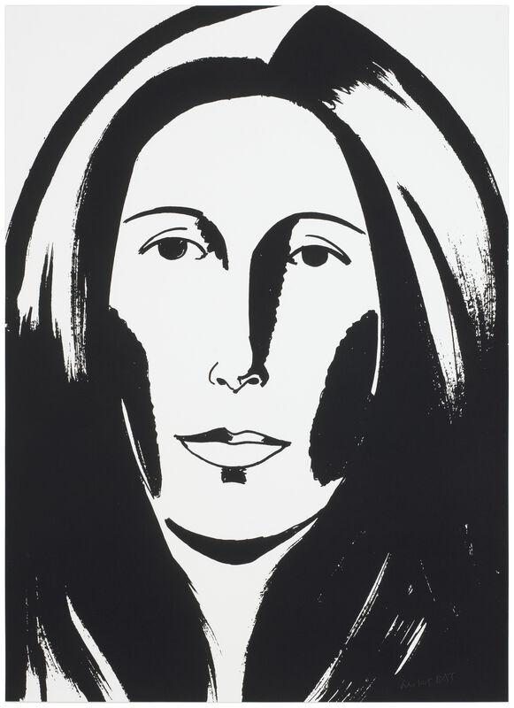 Alex Katz, 'Anna (Wintour)', 2013, Print, Somerset satin white 300 gsm paper, Frank Fluegel Gallery