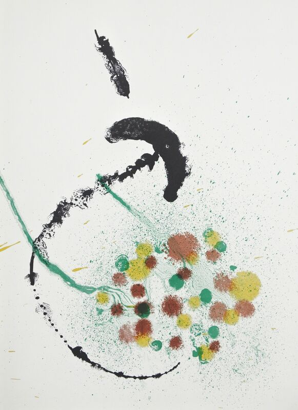 Joan Miró, 'La Fille du Jardinier No.1', 1963, Print, Color lithograph, Hans den Hollander Prints