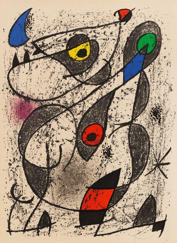 Joan Miró, 'Untitled Abstract', Print, Lithograph, Hindman