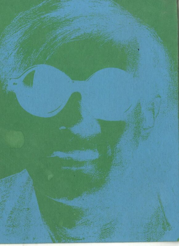 Andy Warhol, 'Rare silkscreen invitation card to Andy Warhol birthday celebration, from the collection of Tim Hunt, Andy Warhol's agent at the Warhol Foundation and Tama Janowitz', 2009, Ephemera or Merchandise, Silkscreen invitation. Unframed, Alpha 137 Gallery