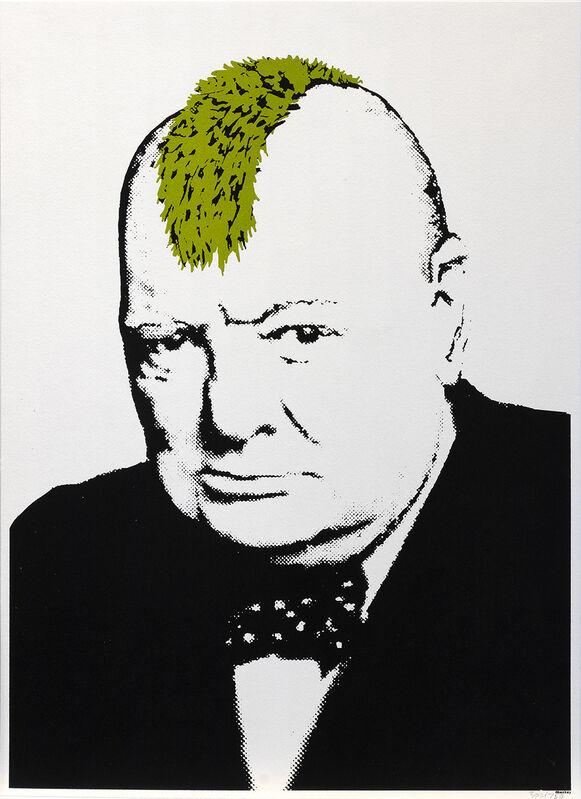 Banksy, 'Turf War', 2003, Print, Screenprint on paper, RestelliArtCo.