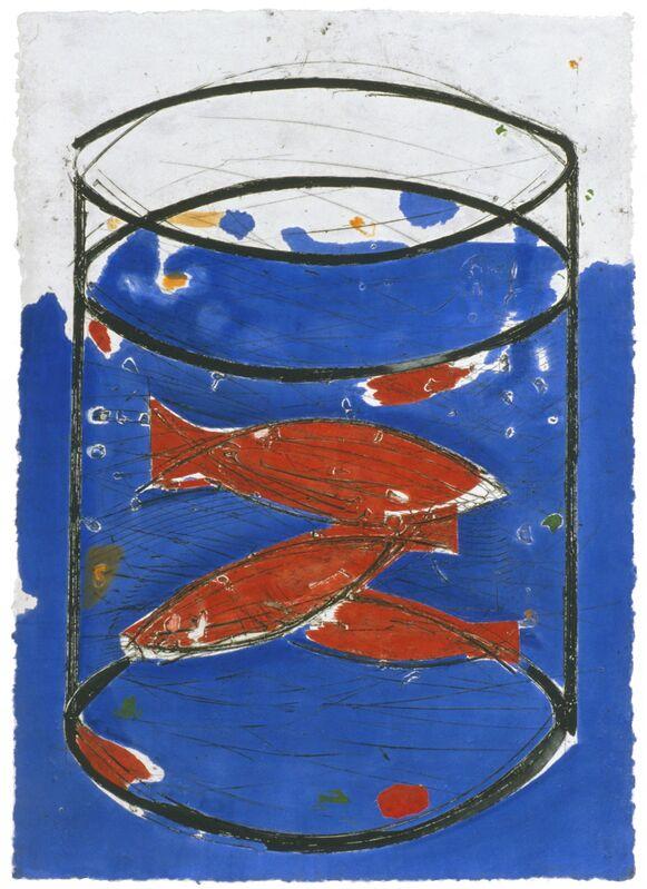 Manolo Valdés, 'La Pecera', 2003, Print, Mixografía® print on handmade paper, Mixografia