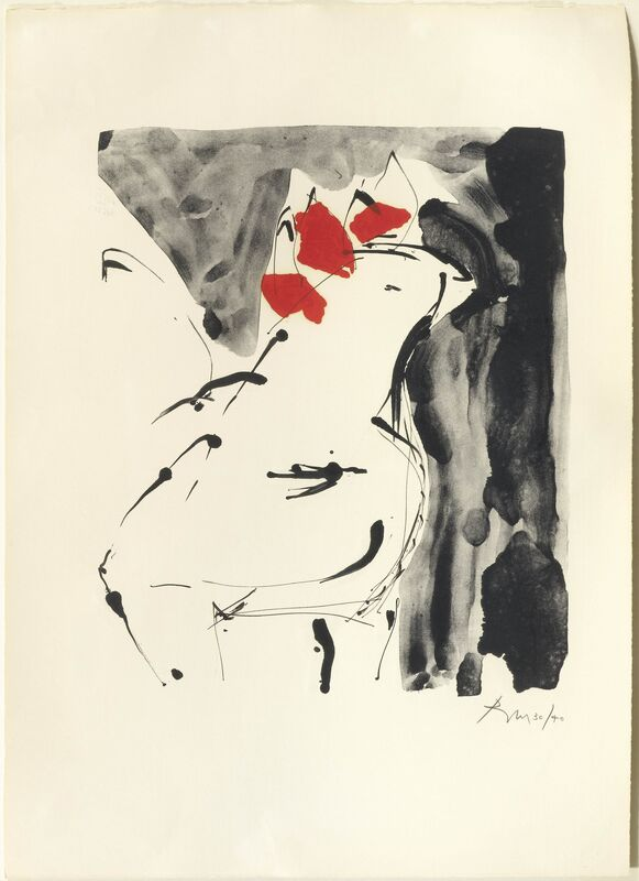 Robert Motherwell, 'Le Coq', 1974/75, Print, Colour lithograph and screenprint, Koller Auctions