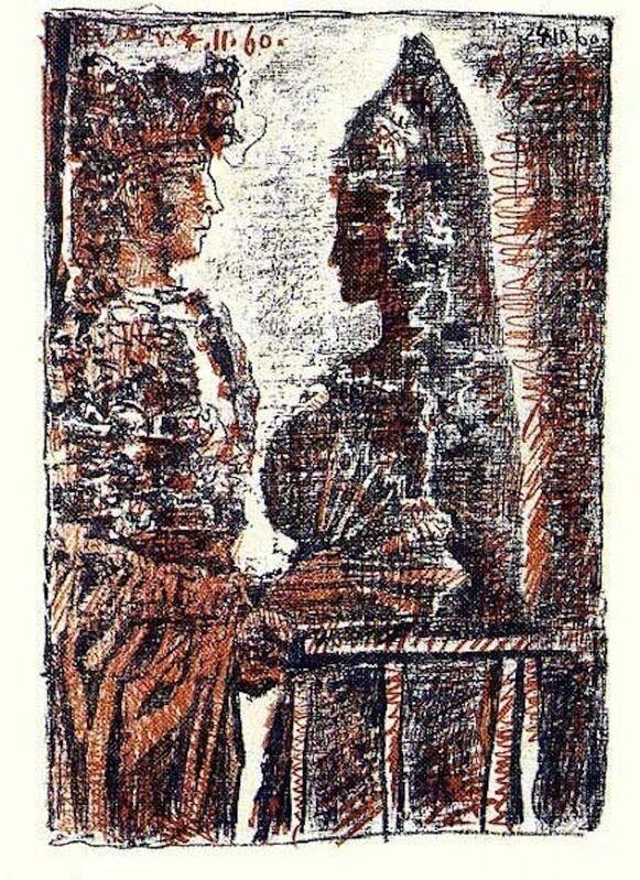 """Pablo Picasso, 'Torero y Señorita from """"Le Carmen des Carmen""""', 1964, Print, Lithograph, Dawson Cole Fine Art"""