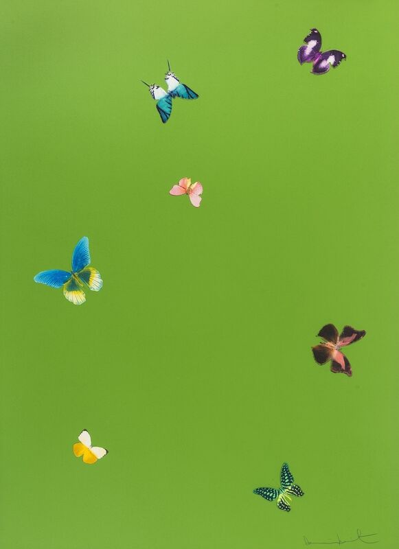 Damien Hirst, 'The Wonder of You, Your Taste', 2015, Print, Etching printed in colours, Forum Auctions
