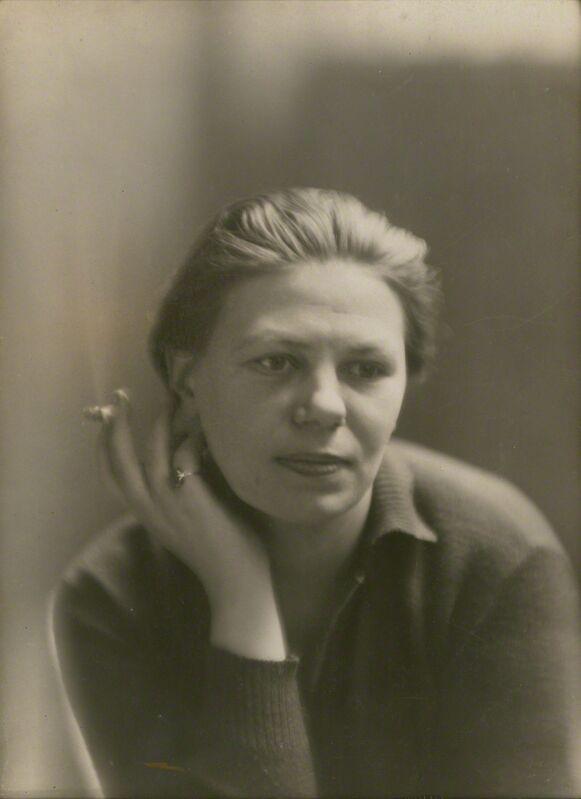 Germaine Krull, 'Self portrait, Paris', 1927, Photography, Gelatin silver print, Jeu de Paume