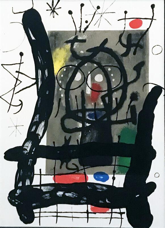 Joan Miró, 'Miro: Peintures sur Cartons, Untitled ', 1965, Print, Lithograph, Georgetown Frame Shoppe