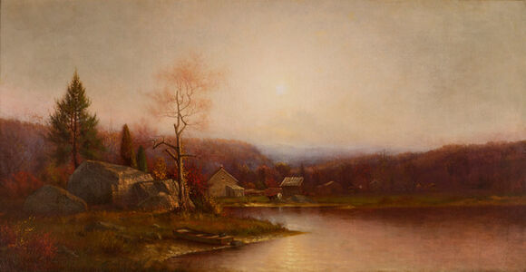 Ralph Albert Blakelock, 'Pioneer Home', 19th -20th Century