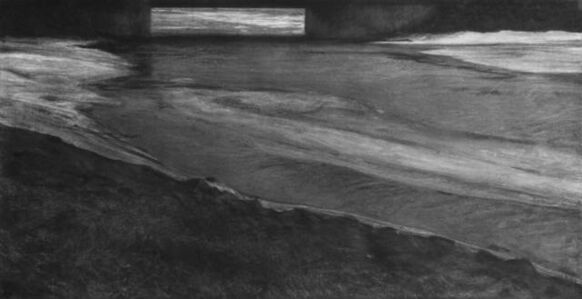 Renie Spoelstra, 'Half Frozen River', 2019
