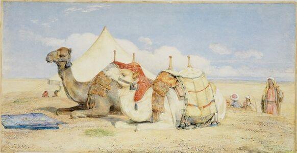 John Frederick Lewis, 'Edfou, Upper Egypt', 1859