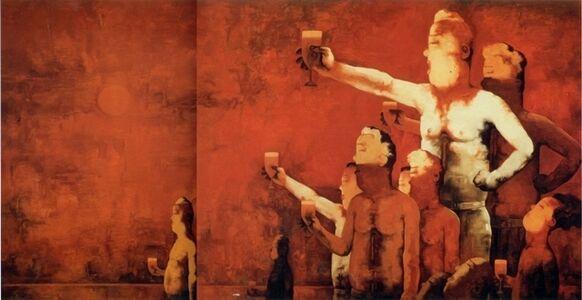 Su Xinping 苏新平, 'Toasting No.35  干杯三十五', 2006