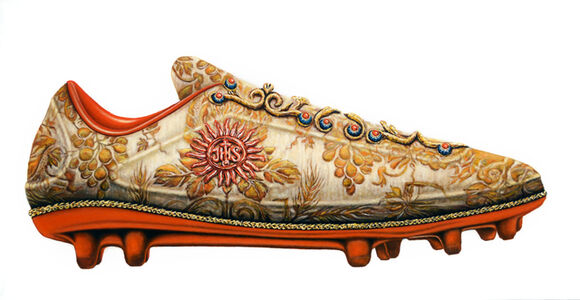 Matus Lanyi, 'Shoe (aka Soccer Cleat), IHS series', 2017