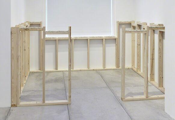 A.M. Martens, installation view
