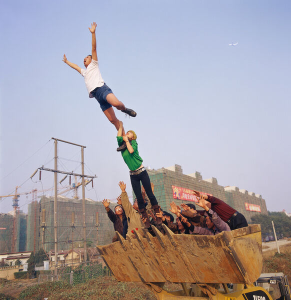 Li Wei 李日韦, 'On the Surface on the Earth', 2004