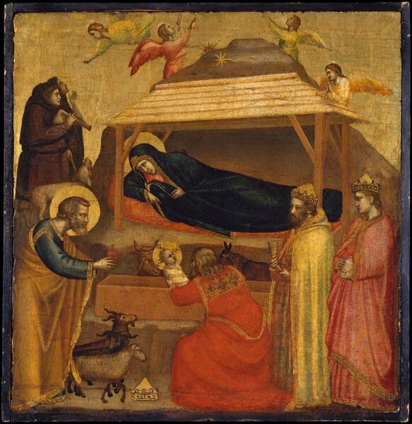 Giotto, 'The Adoration of the Magi', ca. 1320