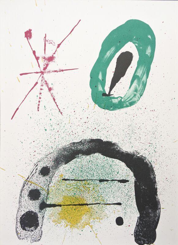 Joan Miró, 'La Fille du Jardinier No.2', 1963, Print, Color lithograph, Hans den Hollander Prints