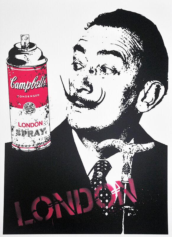 Mr. Brainwash, 'Surreal', 2009, Print, Screenprint and spray paint on cream colored archival paper, Artsy x Tate Ward
