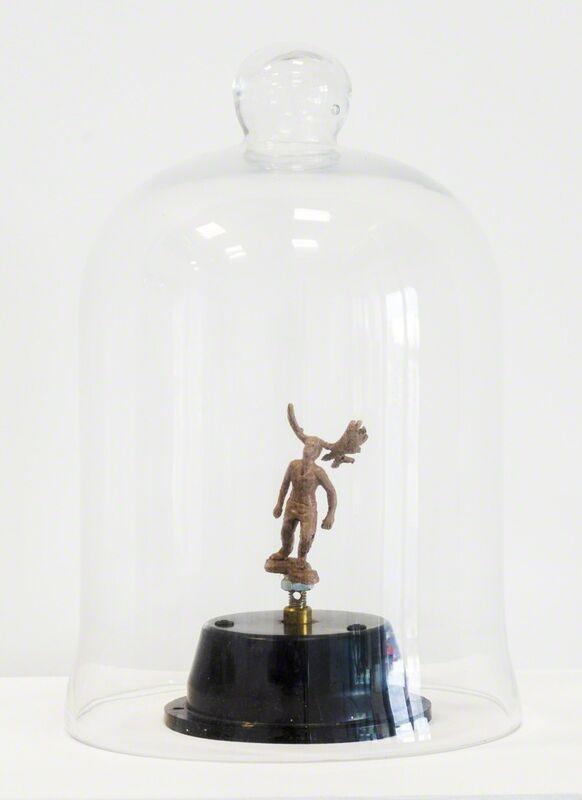 C.K. Wilde, 'Burdens', 2015, Sculpture, Cast plastic, low rpm motor, glass bell jar, sculpture stand, Rosamund Felsen Gallery